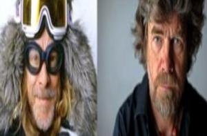 Doppelgänger: Reinhold Messner und Helge Schneider